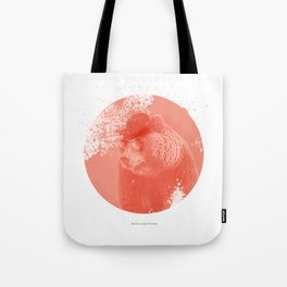 Stylish Bear Tote Bag