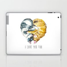 Cats Love . Valentine's Day Laptop & iPad Skin