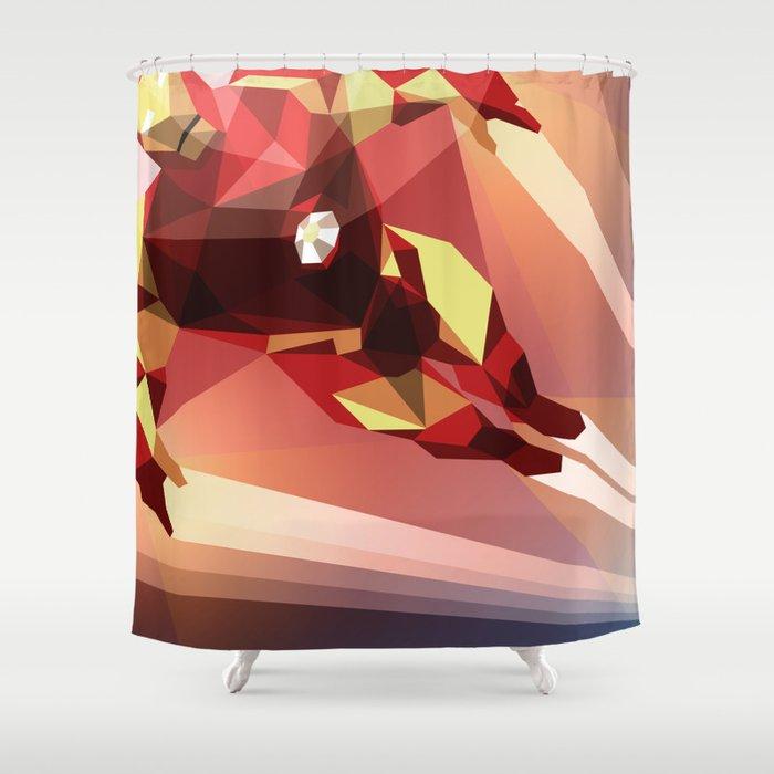 Man Made Shower Curtain