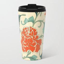 Chinese peony Travel Mug