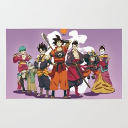 Dragon Ball Bushido : Poster Rug