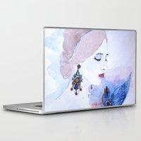 lady Laptop & iPad Skins featuring Lady by S.Svetlankova