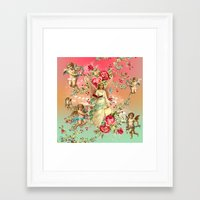 romantic Framed Art Prints featuring romantic by mark ashkenazi