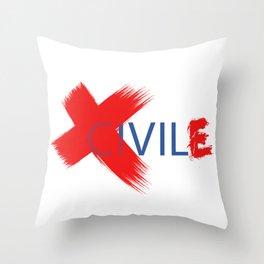 ciVILE™ Throw Pillow
