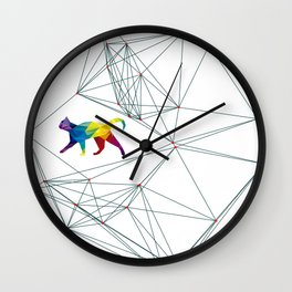 Cats Universe Wall Clock