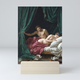 Louis-Jean-François Lagrenée Mars and Venus, Allegory of Peace Mini Art Print