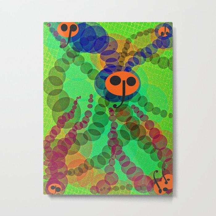 flies Metal Print