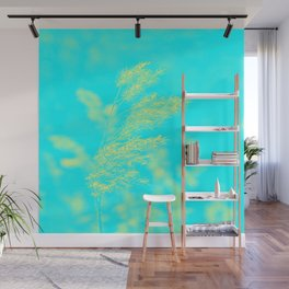 nature -yallow turquoise Wall Mural