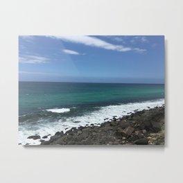 Burleigh Heads Australia Ocean Metal Print