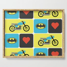 The Bike & The Bat Serving Tray