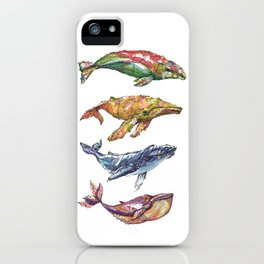 The Whales iPhone Case