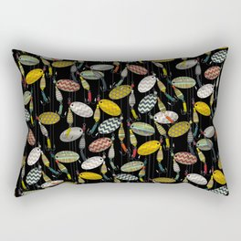 chevron spinners Rectangular Pillow
