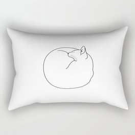 Fuzz Ball Rectangular Pillow