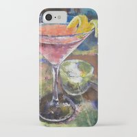 martini iPhone & iPod Cases featuring Martini by Michael Creese