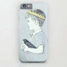 Boy and bird blue Slim Case iPhone 6s