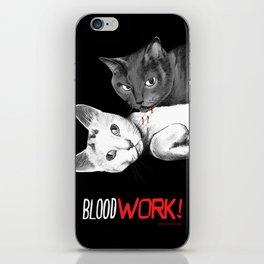 BloodWork! iPhone Skin