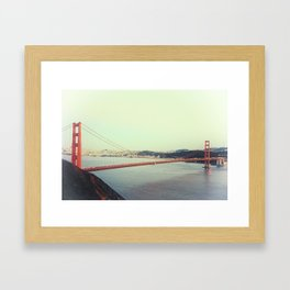 GOLDEN GATE BRIDGE Framed Art Print