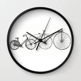 The impossible bike Wall Clock
