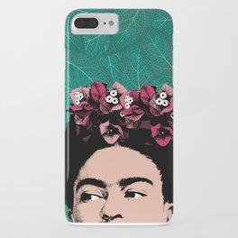 Floral Frida iPhone Case