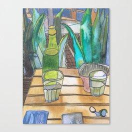 Rolador Canvas Print