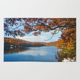 Autumn at Lake Killarney Rug