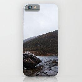 Misty Irish lake iPhone Case