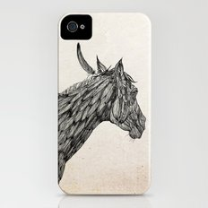 Feather Horse  iPhone (4, 4s) Slim Case