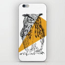 UHU - Eurasian Eagle Owl (Bubo bubo) iPhone Skin
