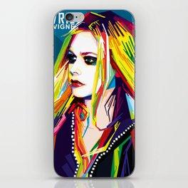 WPAP Avril Lavigne iPhone Skin