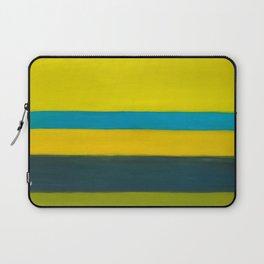yellow blue Laptop Sleeve