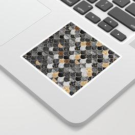 REALLY MERMAID BLACK GOLD Sticker