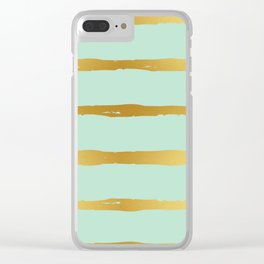 Golden Touch I Clear iPhone Case