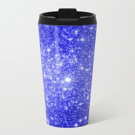 Royal Blue GAlAXY Stars Travel Mug