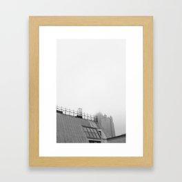 Chicago black&white 2 Framed Art Print