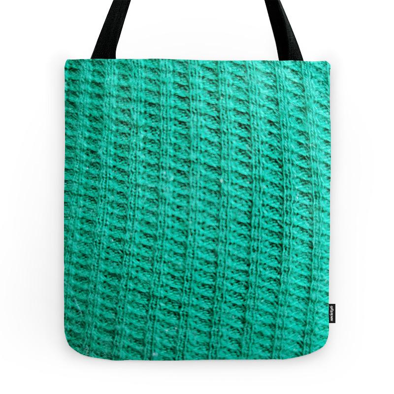 Green Fabric Tote Purse by dlatrice (TBG9537523) photo