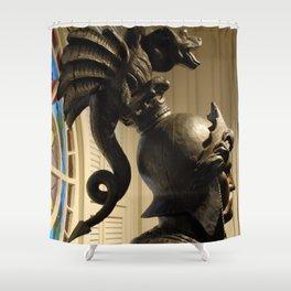 Dragon On Head Shower Curtain
