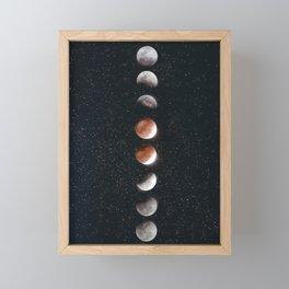 Phases of the Moon II Framed Mini Art Print