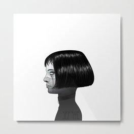 Mathilda. Metal Print