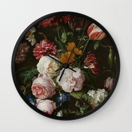 Vintage Botanical No. 1 Wall Clock