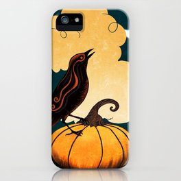 Halloween Is In The Air iPhone Case