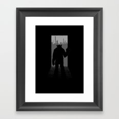 Magic Doors (Sulley) Framed Art Print