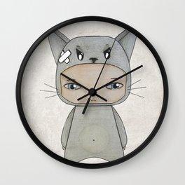 A Boy - Cat Wall Clock