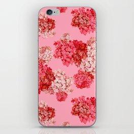 hydrangea (doubled) iPhone Skin