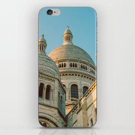 The Basilica of the Sacred Heart in Montmartre, Paris, France. iPhone Skin