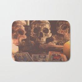 Catacomb Culture - Skulls and Tarot Bath Mat