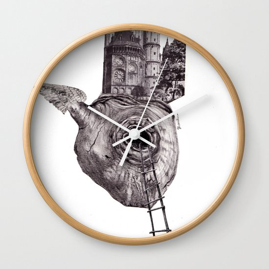 The Heart of The City Wall Clock
