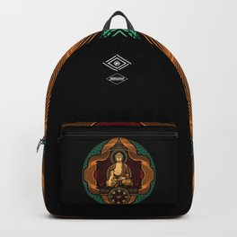 The Golden Buddha by Fieldinspired Backpack