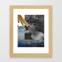 every day is like sunday Framed Art Print