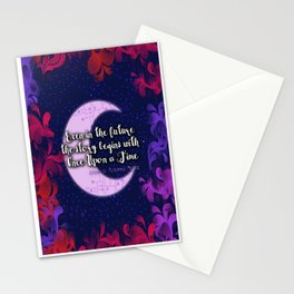 Once Upon a Time- The Lunar Chronicles Quote Stationery Cards
