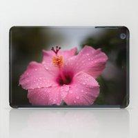 hibiscus iPad Cases featuring Hibiscus by David Gallo